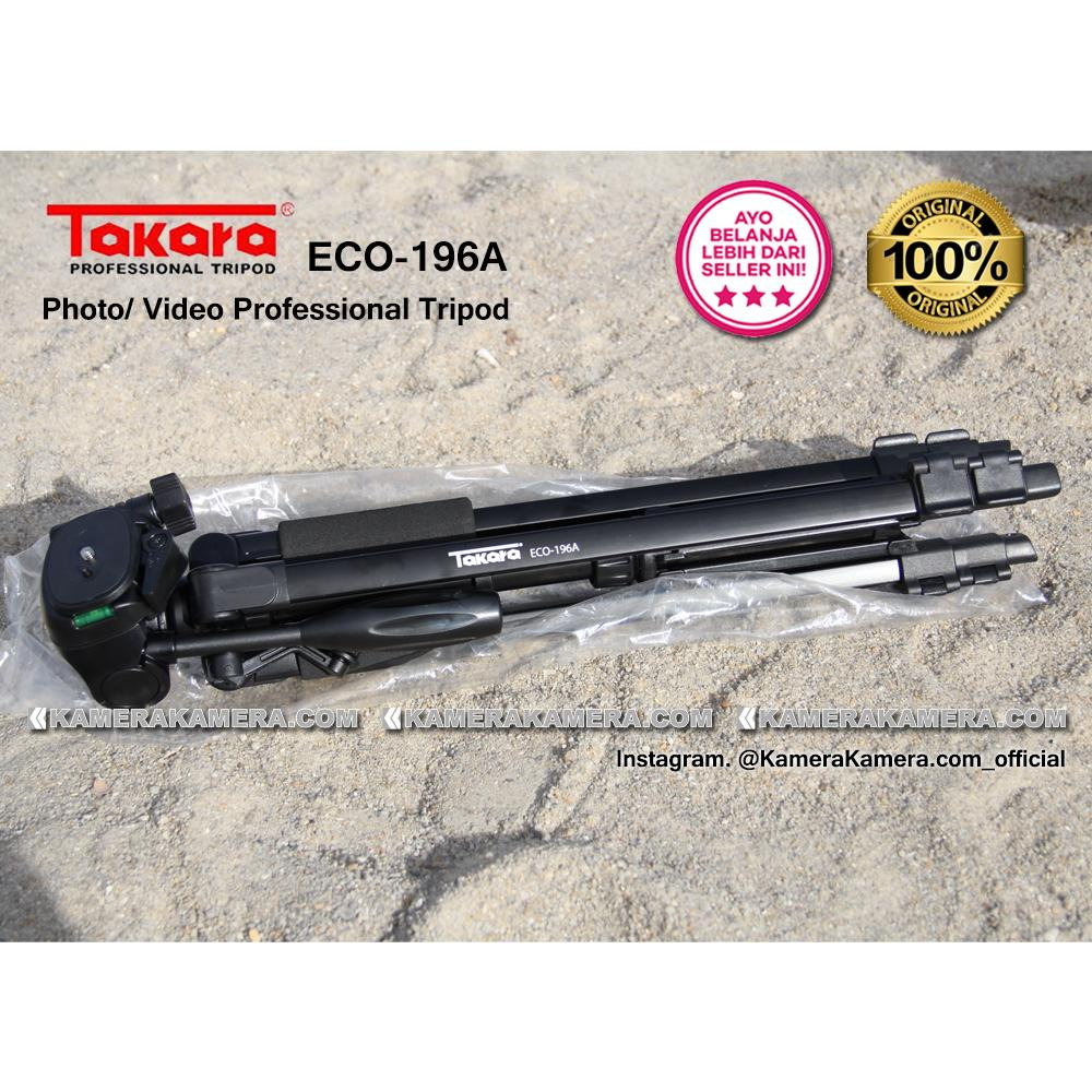 Harga Baru Takara Eco 196a Photo Video Professional Tripod Cover 05