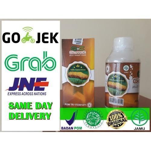 QnC Jelly Gamat Obat Herbal Asli 100% Original