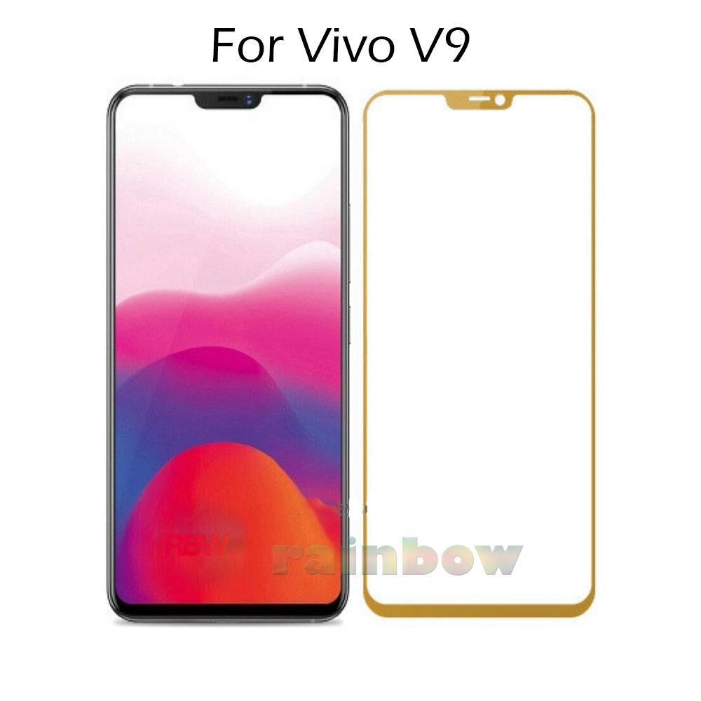 Rainbow Tempered Glass Vivo V9 Full Screen Protector Vivo V9 Temper Vivo V9 / Tempered Vivo