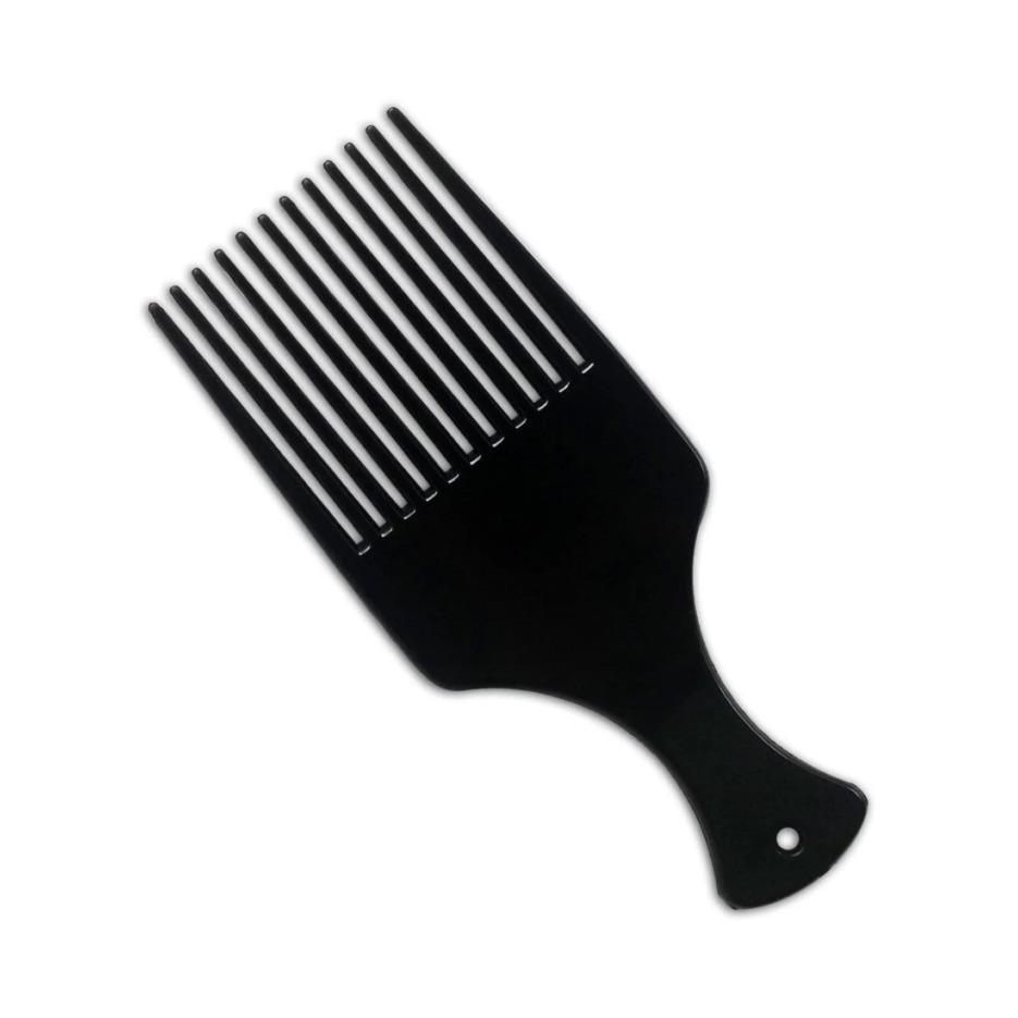 Sisir Garpu Besar - Pick Comb - Hitam