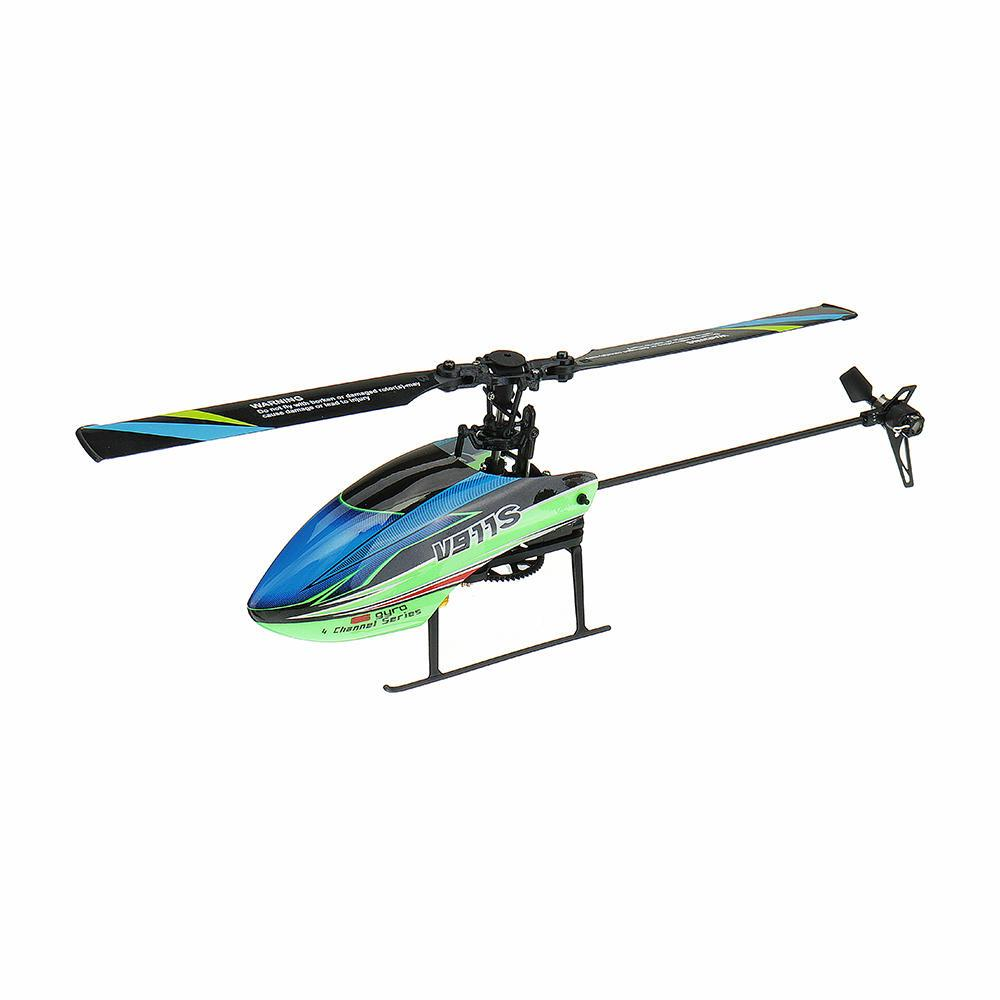 Supermall Wltoys V911S 2.4G 4CH 6-Aixs Gyro Flybarless Helikopter RC BNF