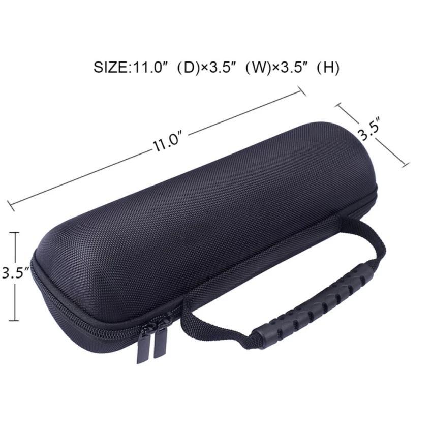 ... Travel Carry Case Cover Storage Hard Case Bag for JBL Charge 3 + Tali Selempang Hitam