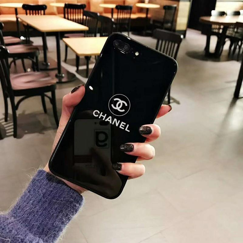 Fitur Chanel Glass Case Iphone 6 6 7 7 8 8 X Oppo F1s F3 F5 F7 Hard