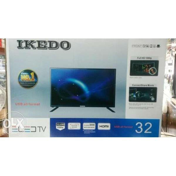 Ikedo LK-32M1A LED TV - Hitam [32 Inch/ Dolby Surround Sytema]