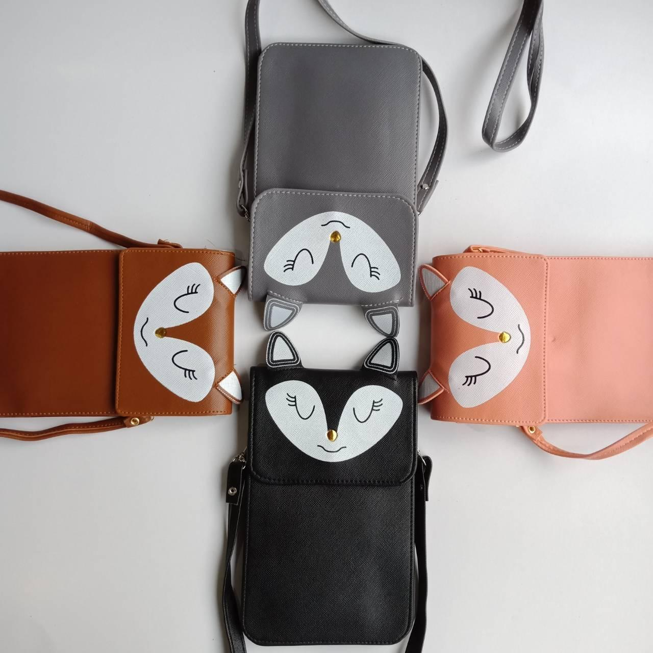 Tas Mini Bag Selempang Cantik 53298 Pink Unik Harga Terkini Wanita 33363 Black Import Ayunes Kecil Motif Lucu Sling Murah Simple
