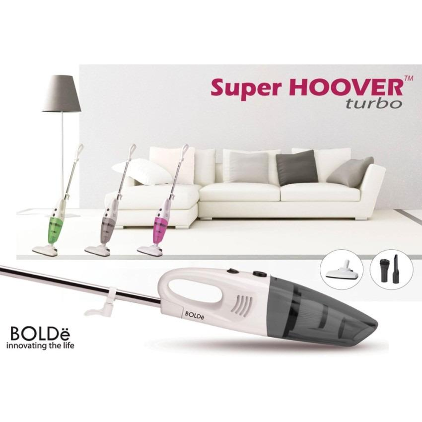 Bolde Super Hoover Turbo Vacuum Cleaner Vakum Vacum Penyedot Penghisap Blower Debu Grey 2 in 1 ...