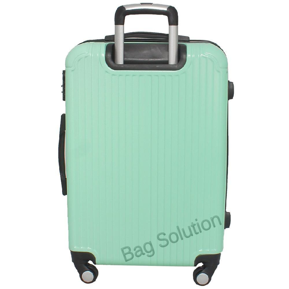 ... Real Polo Tas Koper Hardcase Fiber ABS - 4 Roda Putar - GGEJ Size 28 Inch