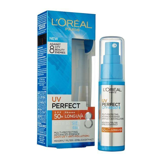 Loreal UV Perfect 8 Multi-Protecting SPF 50+/PA+++ 30ml City Resist