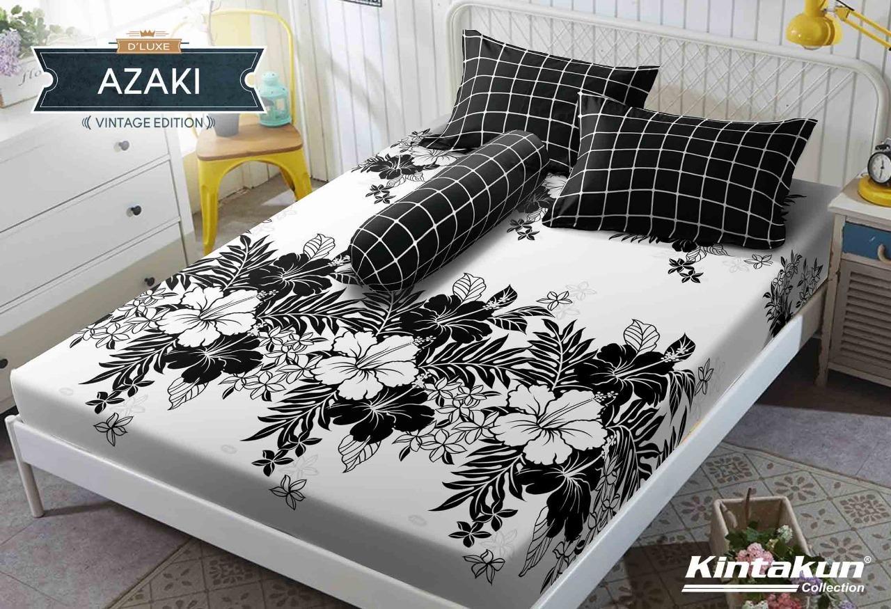 Sprei Kintakun D'luxe motif AZAKI Ukuran 180x200 King Size