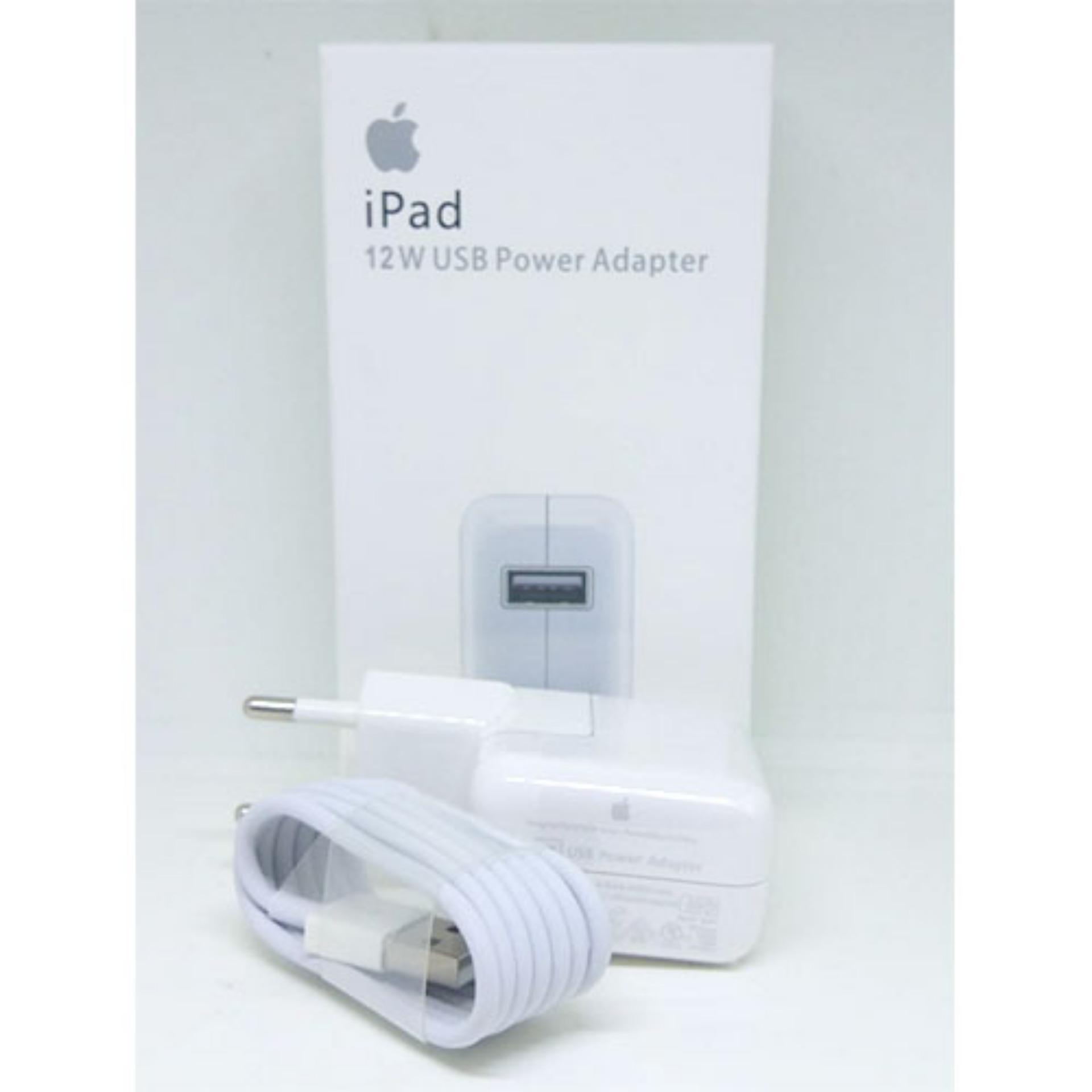 Charger For iPad 12W Fast Charging Kualitas Original ORI Apple iPad 12 W Lightning Bisa