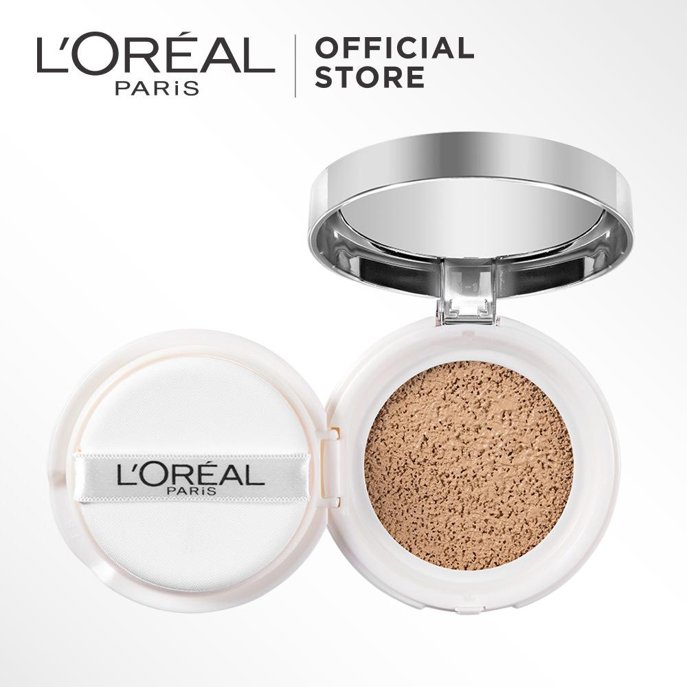 Spesifikasi L Oreal Paris True Match Cushion Foundation N1 Soft Ivory Terbaru