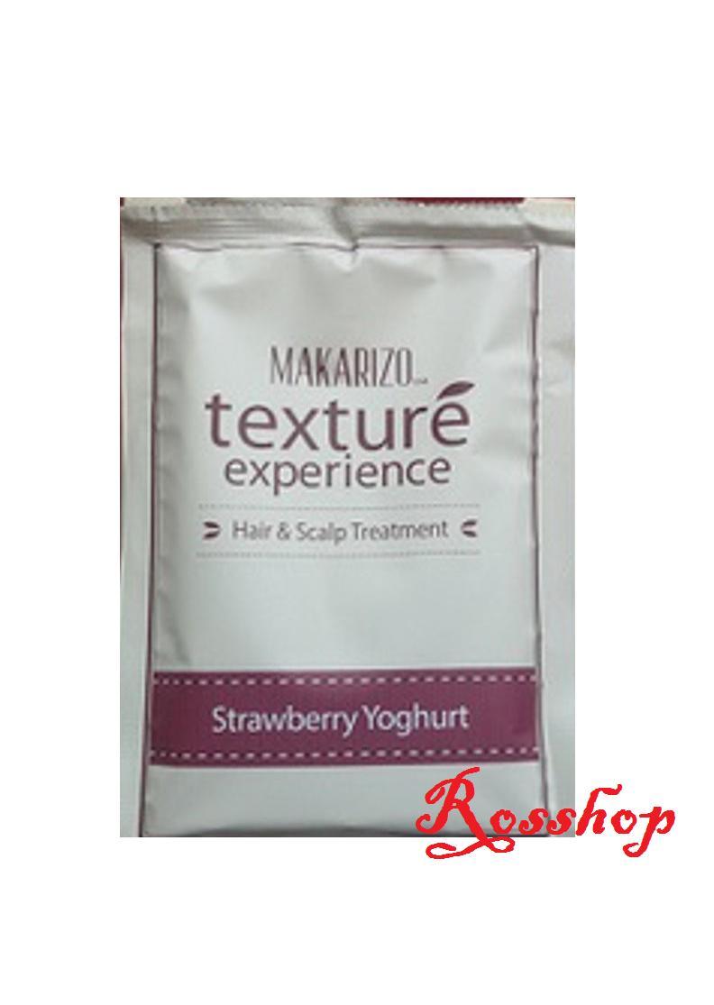 Kelebihan Makarizo Texture Experience Sachet 60gr Black Chocolate Conditioner 250ml Strawberry Youghurt