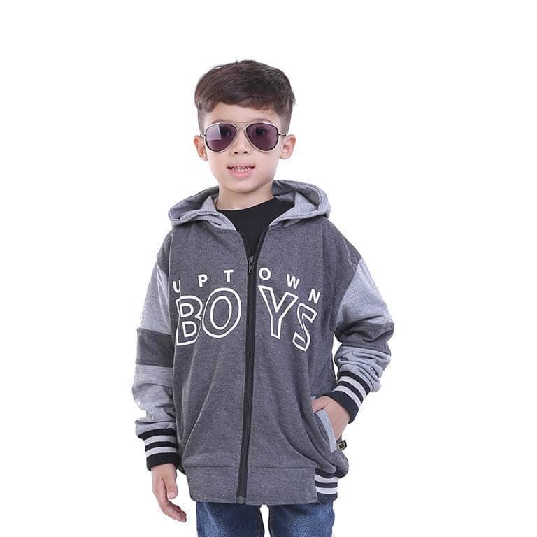 Beli Jaket Hoodie Anak Laki Laki Cowok Fleece Hitam Komb Toddler T 2018 Tr Nyicil