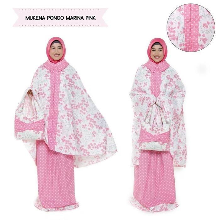 Promo Mukena Dewasa Katun J Ponco Marina Pink Tanpa Kepala Sulawesi Selatan