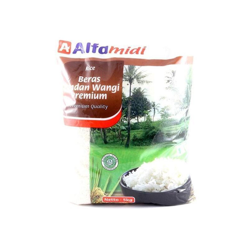 Promo Alfamidi Beras Pandan Wangi Premium 5Kg