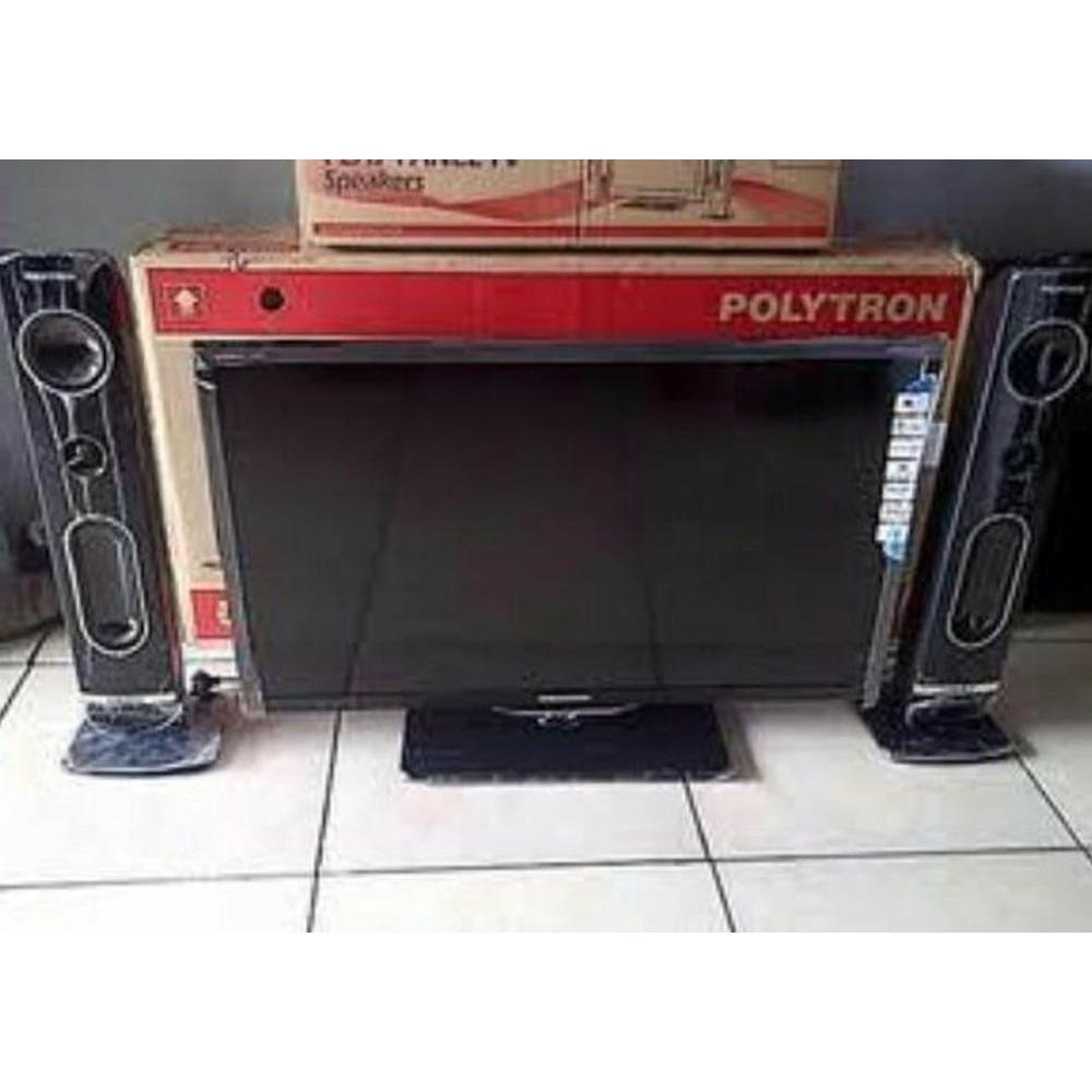 Super Promo Polytron Pld32T710 Cinemax Tv Led.Speaker 32Inch Murah