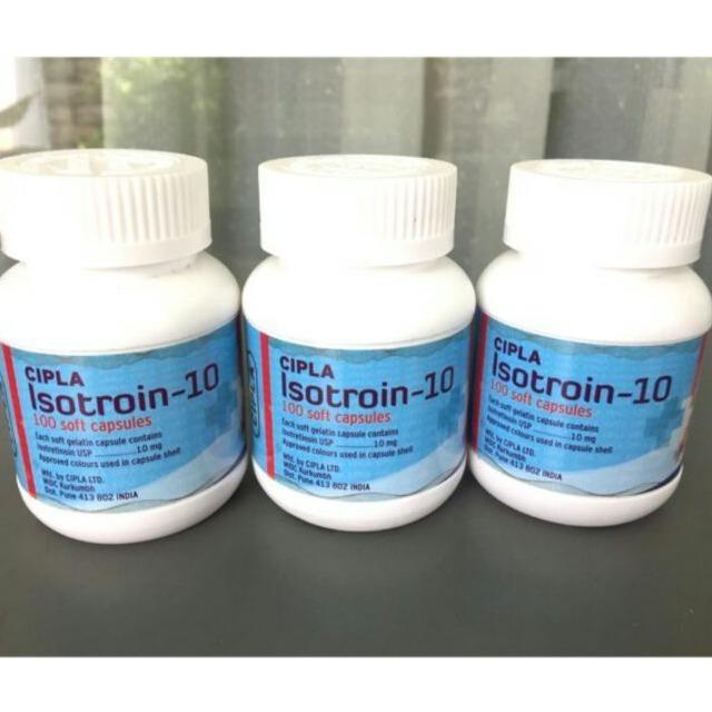 Harga Termurah Isotretinoin Obat Jerawat 10 Mg Isi 100 Kapsul