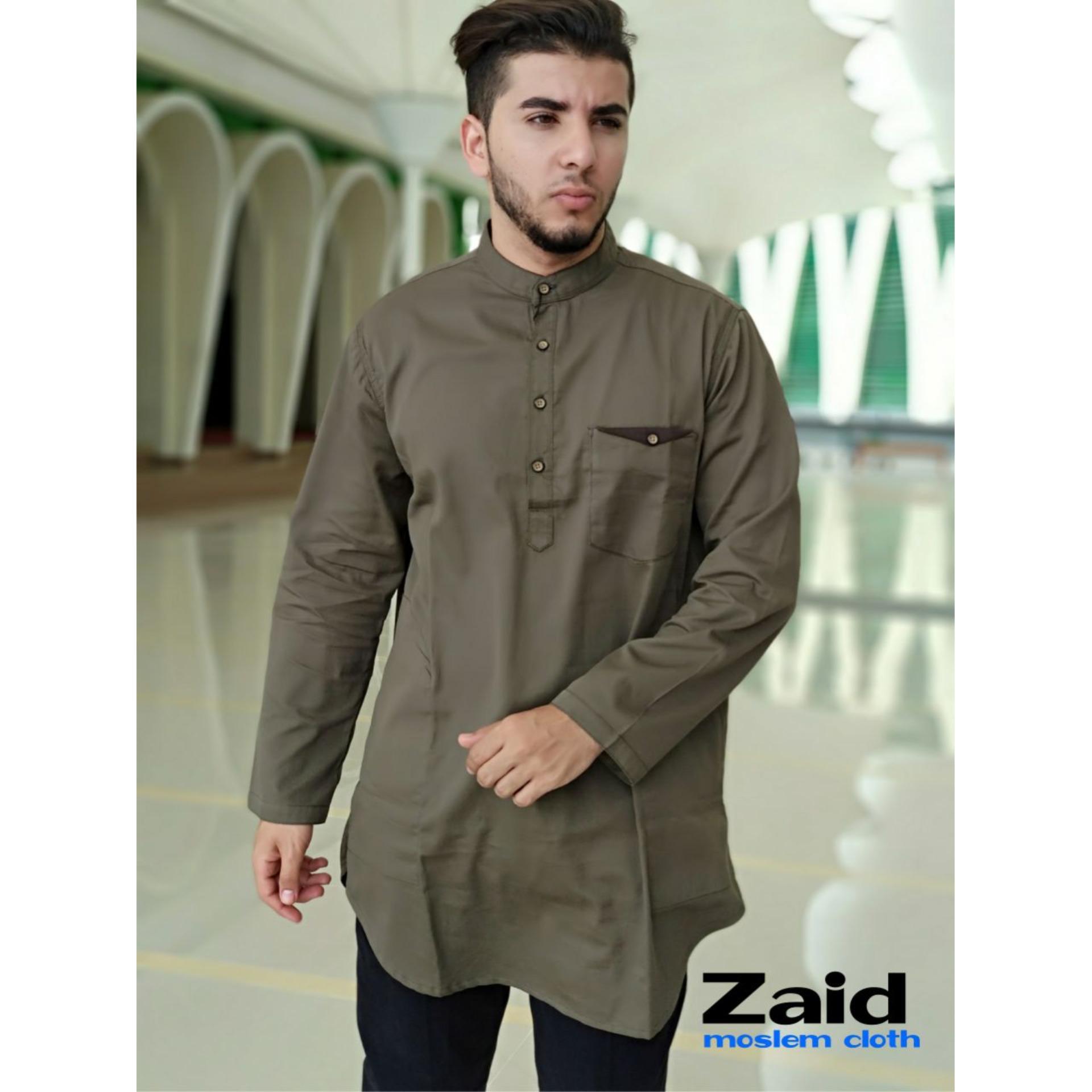 Pakaian Muslim Pria - Baju Gamis Pria - Kurta Pakistan Zaid