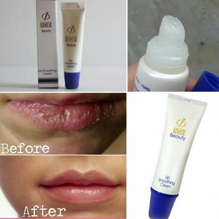 Inez Lip Smoothing Cream Krim Pelembut Bibir - Kecantikan - Kosmetik - Make up
