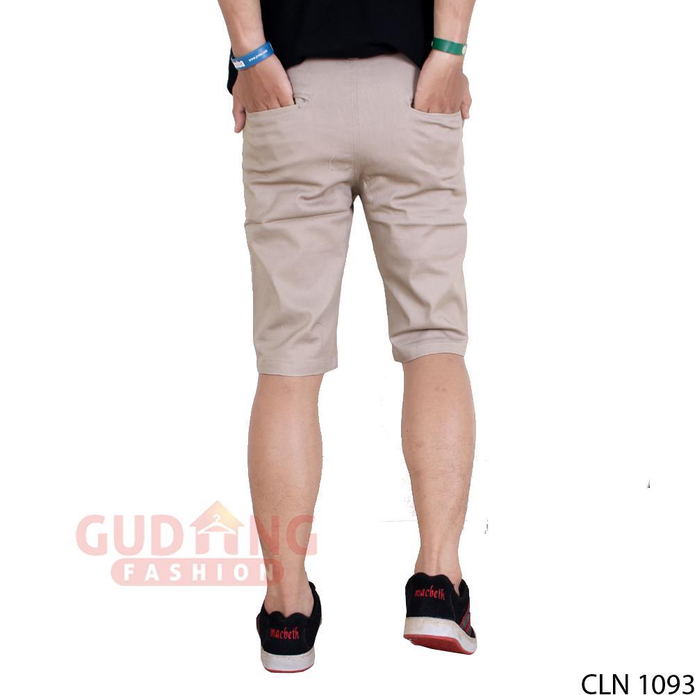Gudang Fashion - Celana Pendek Chino Terbaru Pria / Tersedia Warna Berbeda - 3