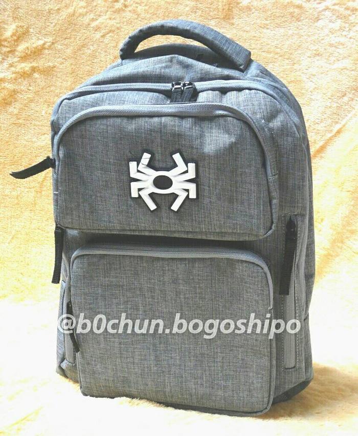 Tas Ransel Kerja/Sekolah Laptop Backpack SPYDERBILT TWO PACK Original - cLQtto