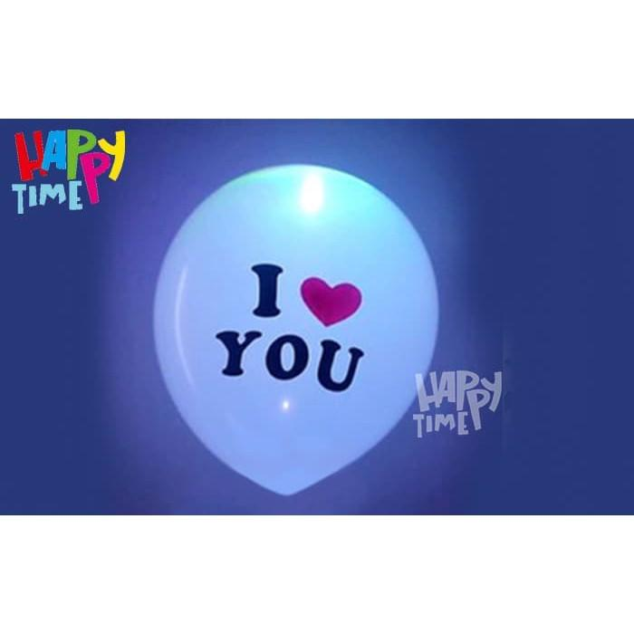 BALON LATEX LED I LOVE YOU BALON LED I LOVE YOU BALON GLOW IN THE DARK