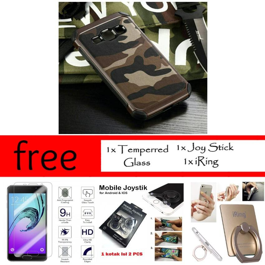 Beli Mouzel Case Army For Samsung Galaxy J7 J7 Core Free Temperred Glass Joy Stick Mobile Game Iring Hard Case Custom Premium Online