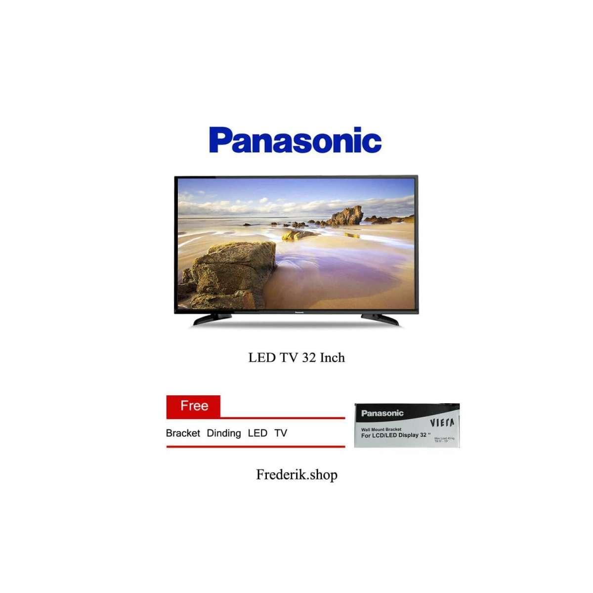Detail Gambar Free Bracket - Led TV Panasonic 32 Inch TH-32F302G - USB movie 32F302 garansi resmi Terbaru