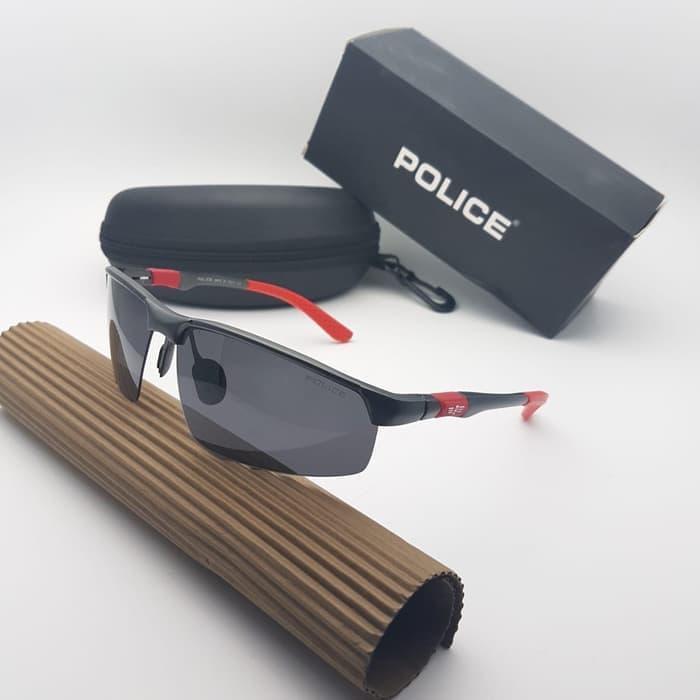Kacamata   Sunglasses Fashion Pria Police Polarized S1803a Super Fullset 561e1cafee