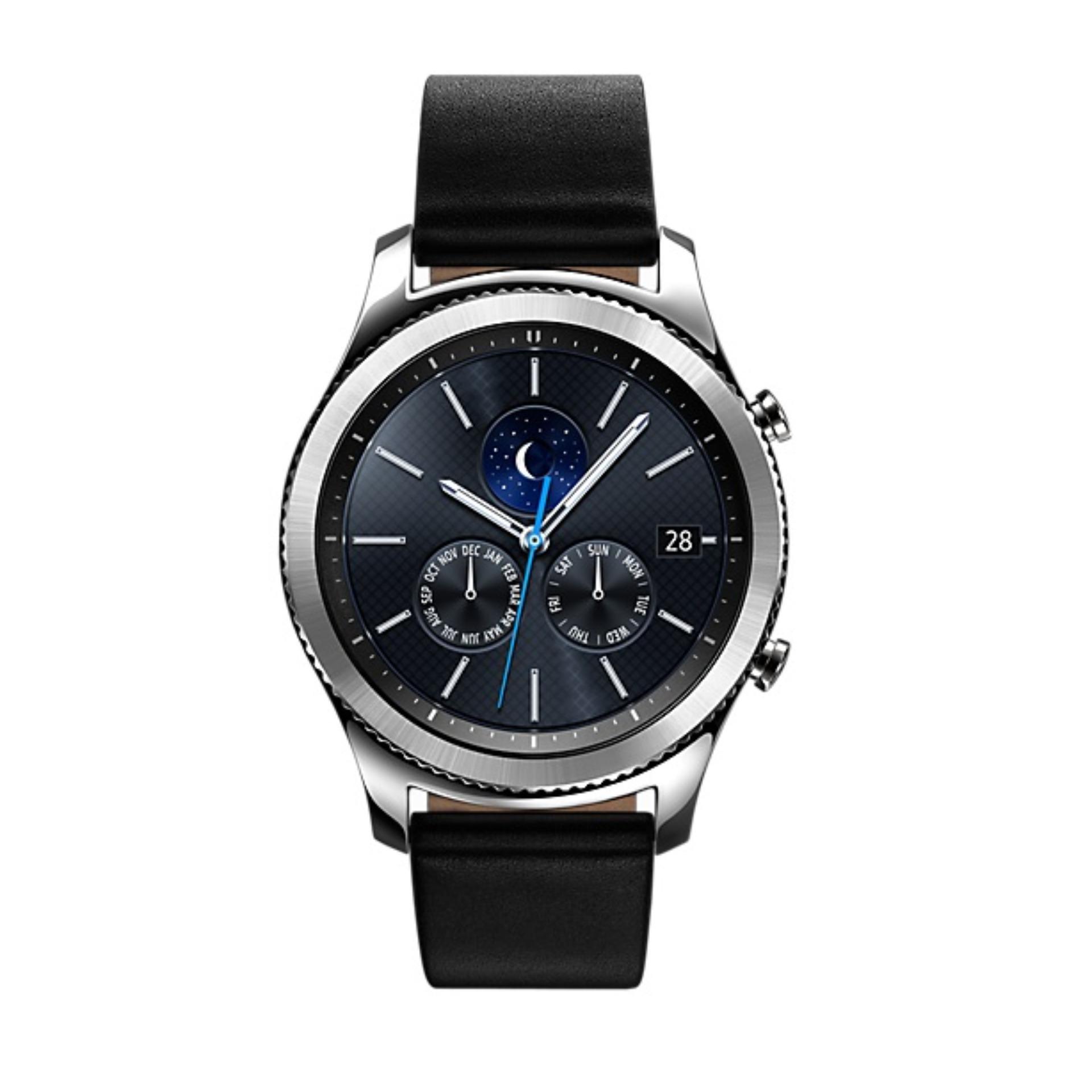 Jual Samsung Smartwatch Gear S3 Classic Sm R770Nzsaxsp Hitam Lengkap