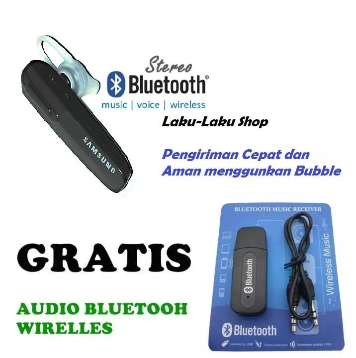 Handsfree Headseat Hedseat Hedset Bluetooth Samsung Earphone Headphone Headset Bluetooth Samsung gratis Jack audio bluetooth -