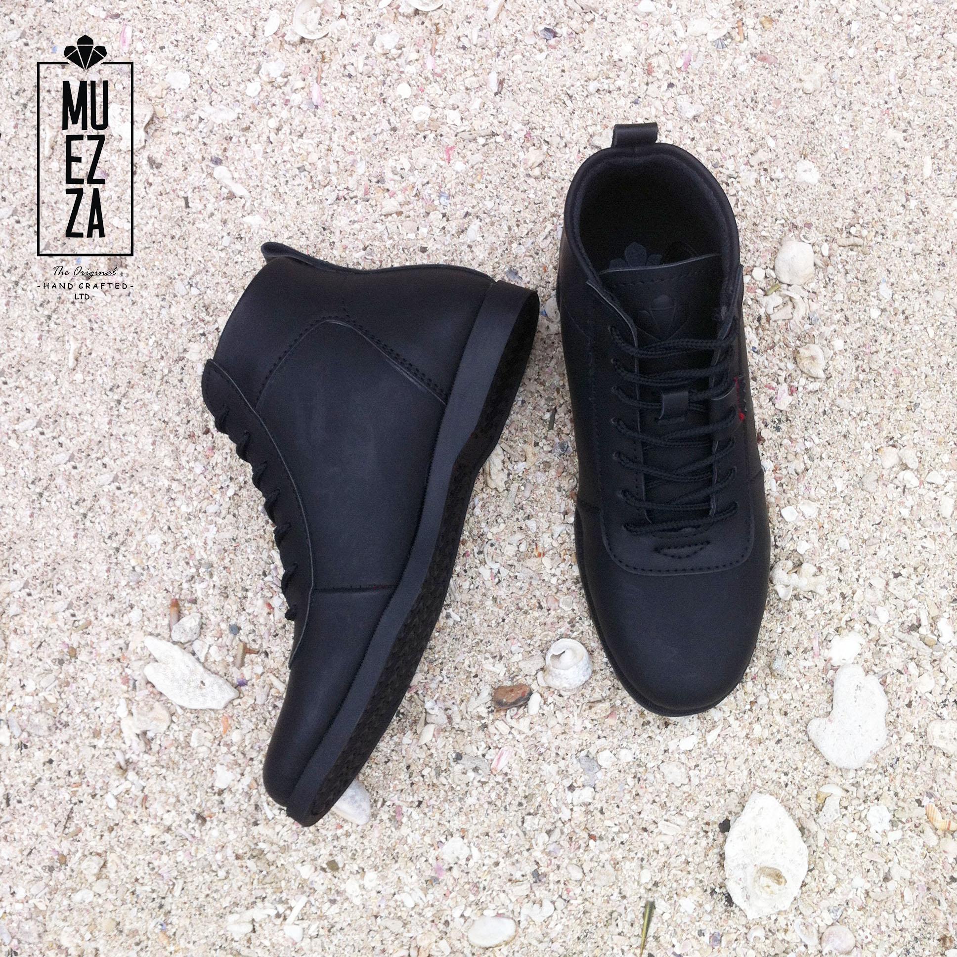 DSH Sepatu Model Brodo Boots Kulit   Sepatu Pria Dan Wanita Erudite Muezza  Storm Kulit Asli 59965052eb