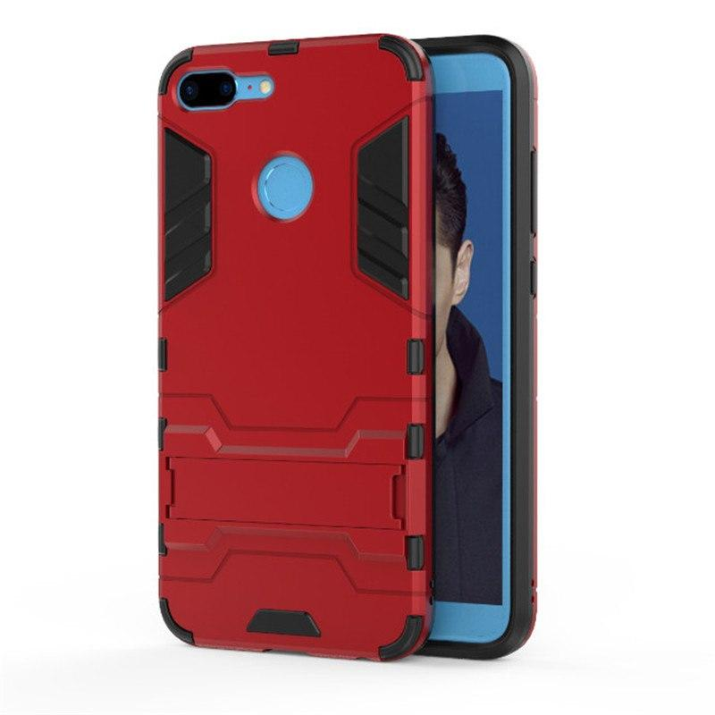 ProCase Kickstand Hybrid Armor Iron Man PC+TPU Back Cover Case for Huawei Honor 9