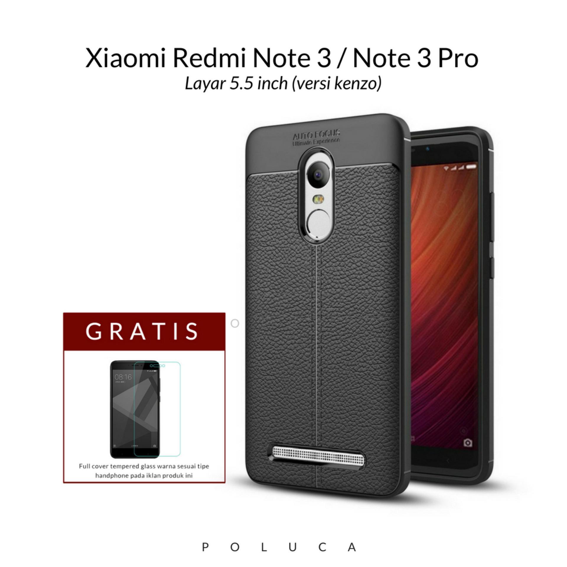 Poluca Luxury Case For Xiaomi Redmi Note 3 / Note 3 Pro Versi Kenzo ( 5.5