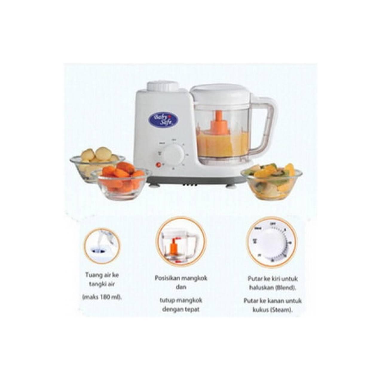 Kelebihan Philips Food Steamer Hd9104 Terkini Daftar Harga Dan Garment Gc504 Babysafe Maker Baby Safe And Blender