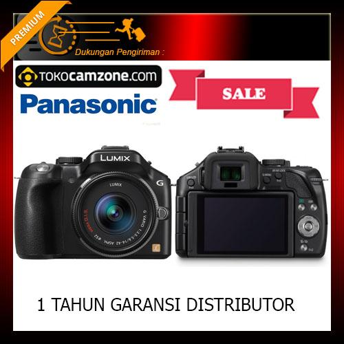Panasonic Lumix DMC-G5X Kit 14-42mm Kamera Mirrorless (Free Screenguard Terpasang)