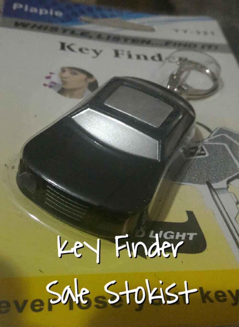 key finder alaram suara bunyi gantungan kunci alarm on off penemu kunci rumah mobil sepeda motor toko kantor garasi gudang senter led merah lampu