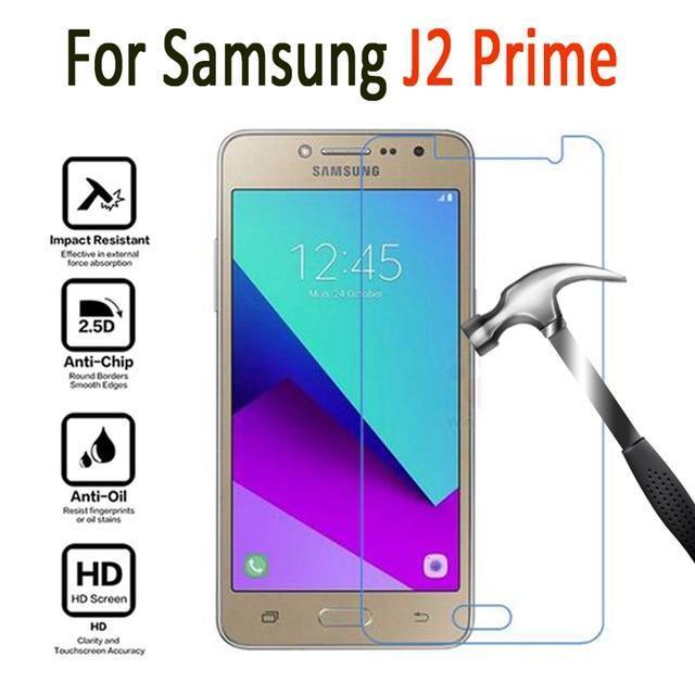 IMC Anti Gores Kaca / Tempered Glass Kaca Bening Samsung Galaxy J2 Prime