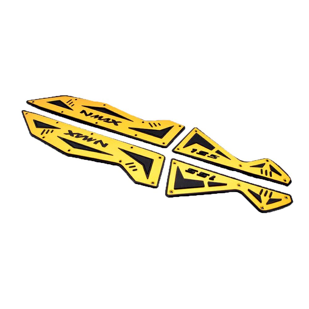 RajaMotor Karpet Motor Plat Yamaha NMax Almunium Motif - Gold - Aksesoris Motor - Variasi Motor