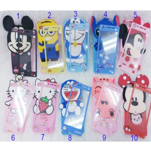 ... Softcase Karakter 4Dimensi BONEKA TIMBUL For XIAOMI REDMI NOTE 5A Free Tempered Glass Motif Senada Case