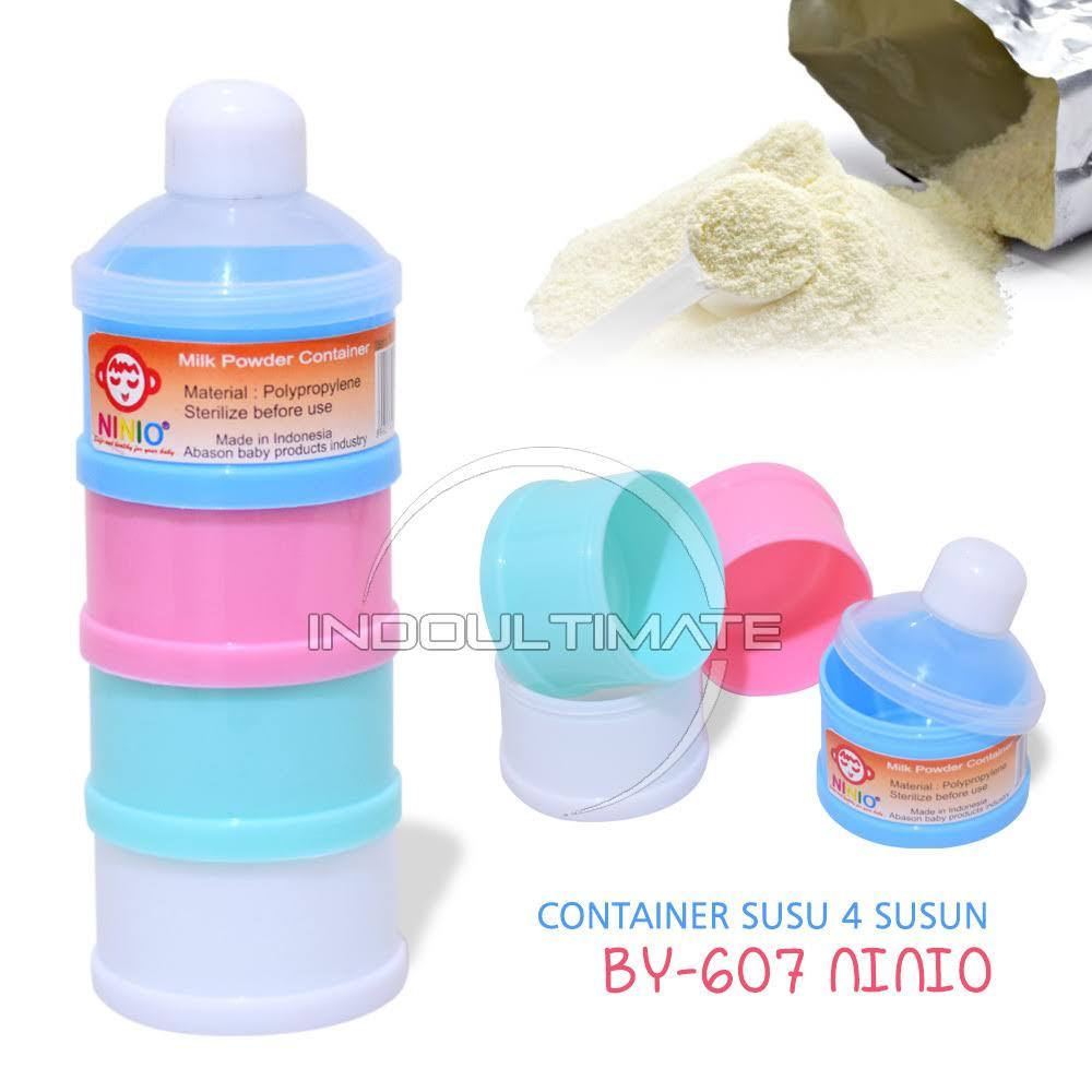 Tempat Susu NINIO bubuk travel / Milk powder Container / milk container / dispenser susu bayi BY-607 / BY-608