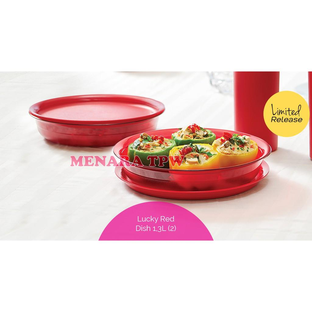 Tupperware Dish bowl(2pcs) MERAH