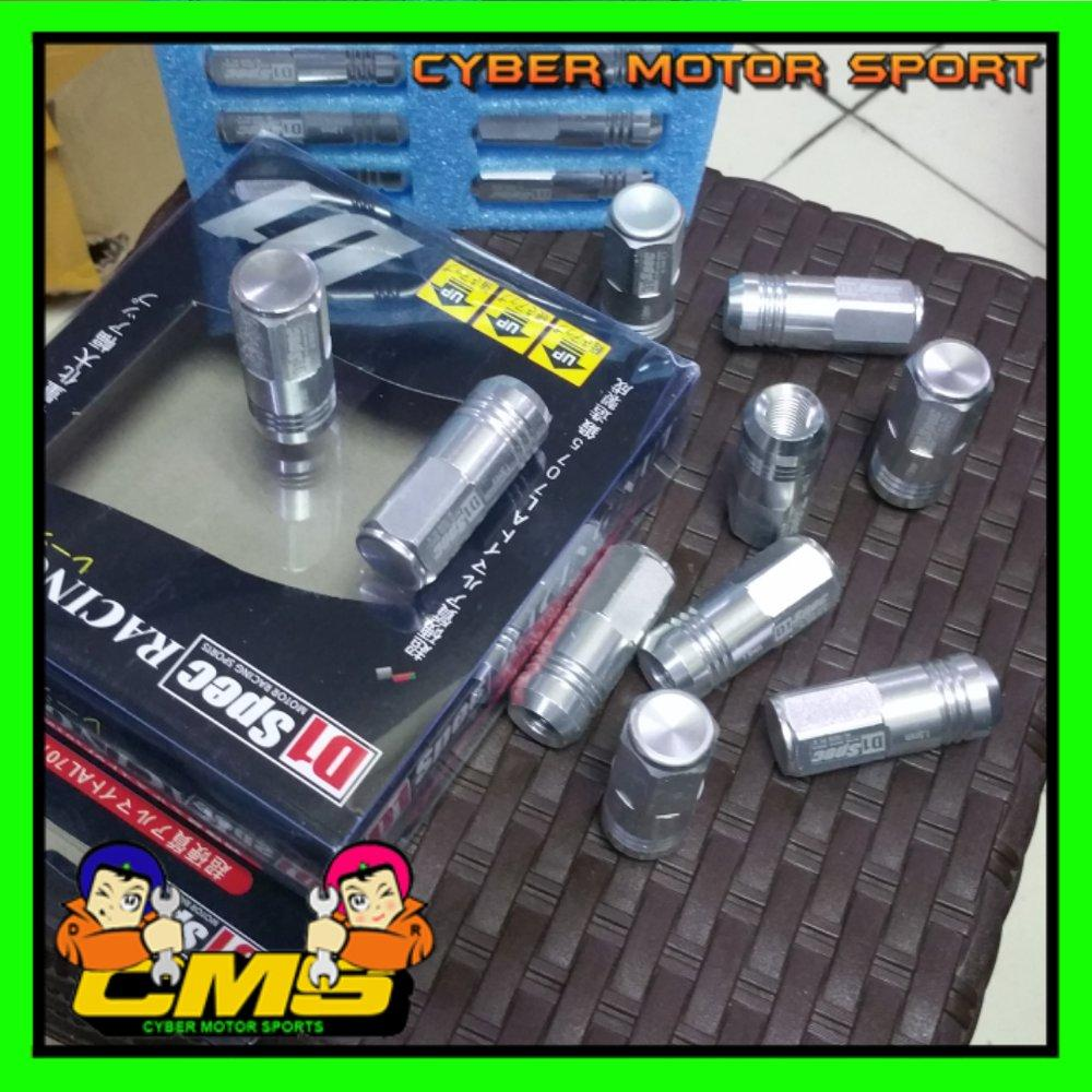 Features Lugnut D1 Spec Ukuran 12x1 5mm Mur Baut Roda 1 15mm Detail Gambar 12x15mm Racing Universal 20pcs Terbaru