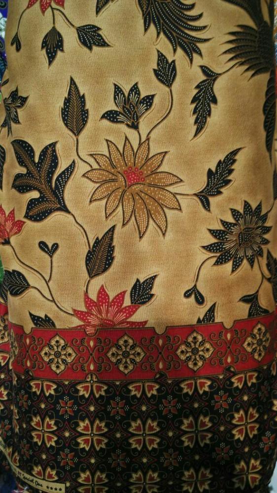Kain Batik Printing Jogja Sutera Motif Klasik Per 0,5 meter