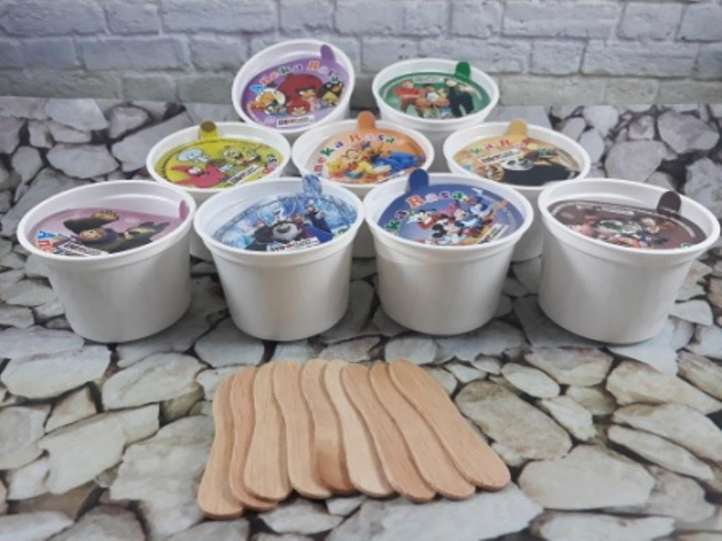 cup ice cream di malang /cup for ice cream polos 100 ml