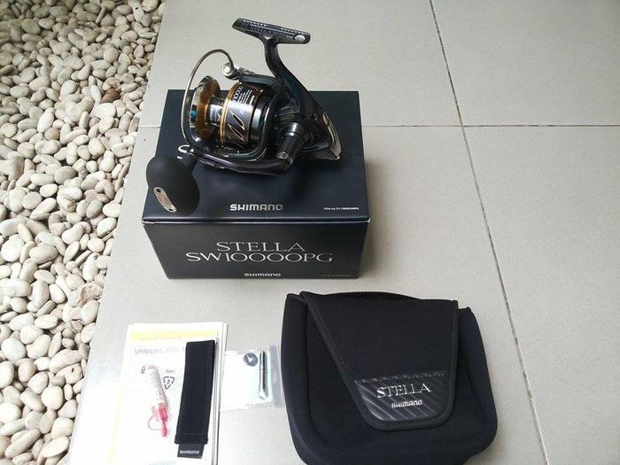 Reel Shimano Stella SW10000PG - 2013 Model