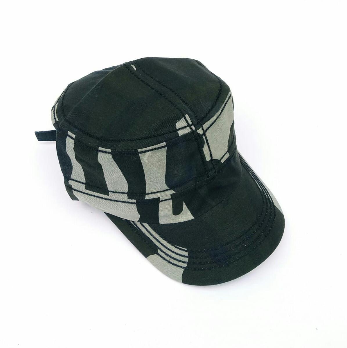 Topi Army pria/topi komando motif army/Topi distro keren - 2