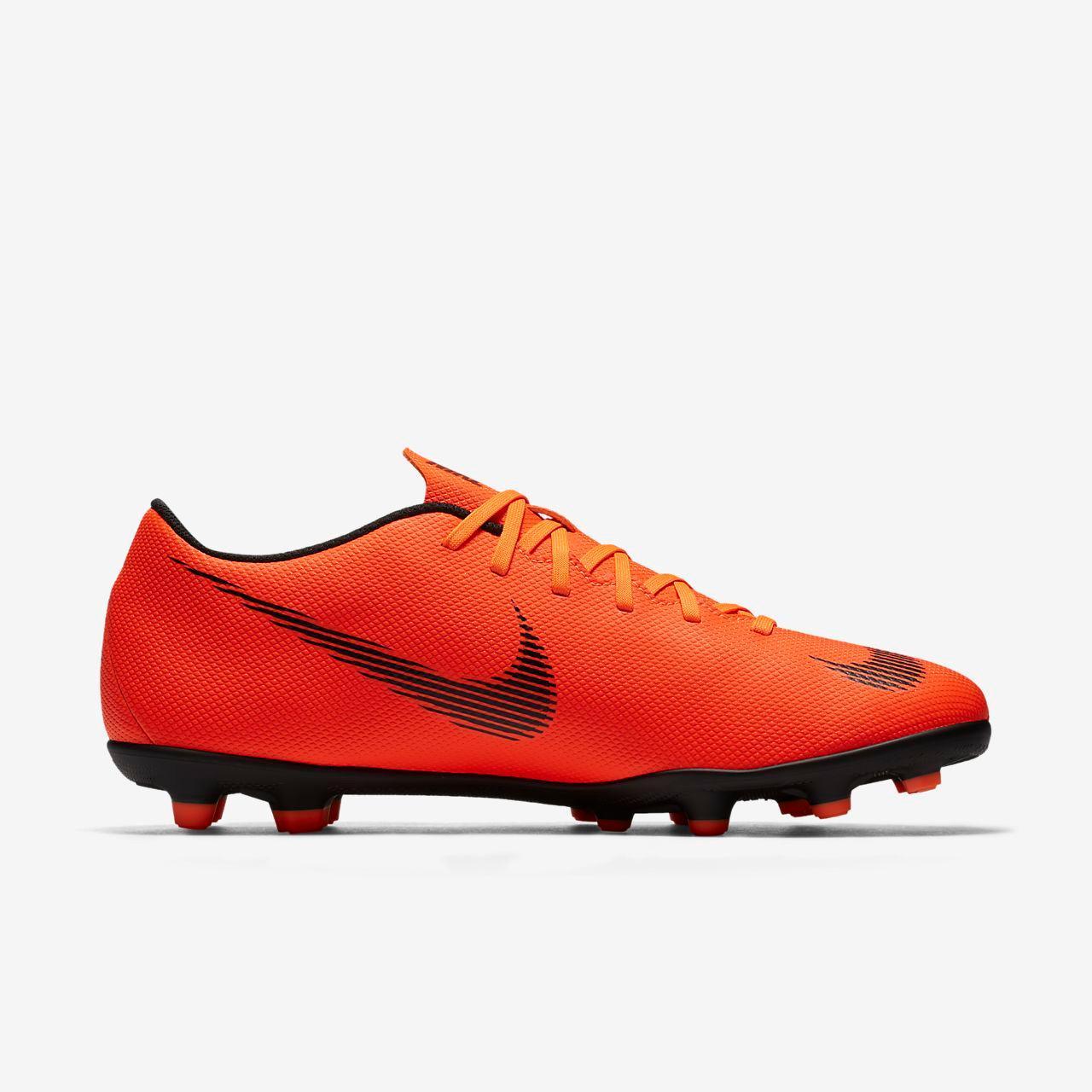 Sepatu Bola Nike Original Vapor 12 Club MG Total Orange AH7378-810