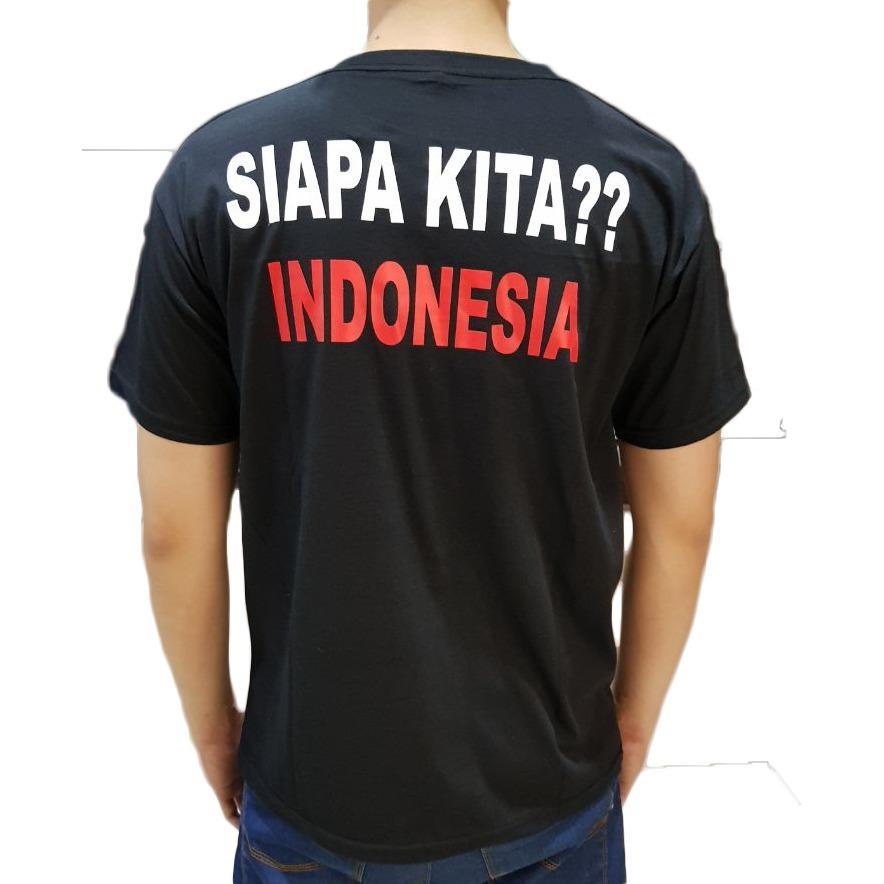 Ayako Fashion Kaos Pria / Kaos Cowo / Kaos Distro / Kaos Siapa Kita Indonesia? (3 Warna) - 2