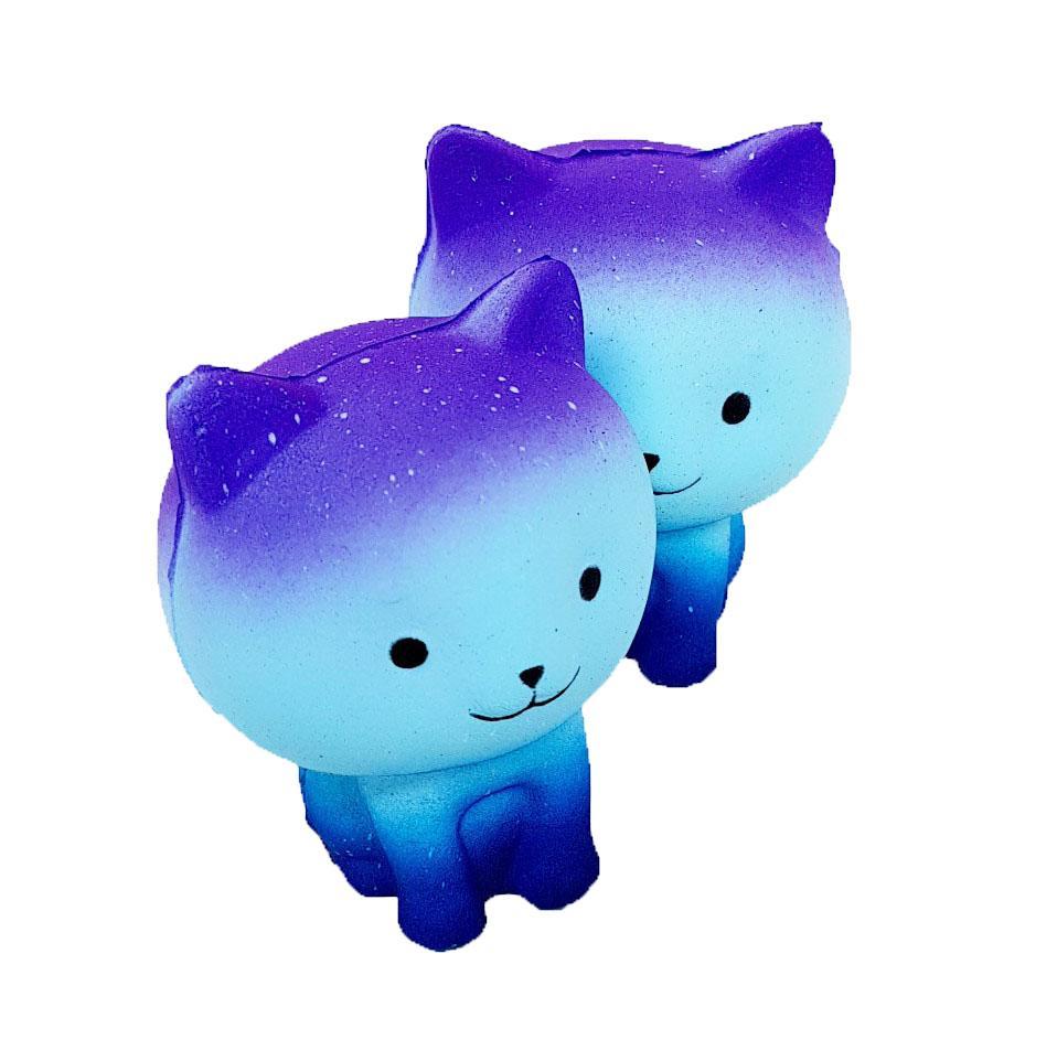 Detail Gambar Squishy Kucing Galaxy 8cm S215 Mainan Anak Terbaru